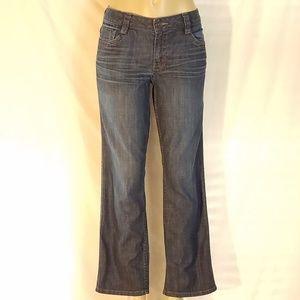 Calvin Klein Lean Bootcut Jeans